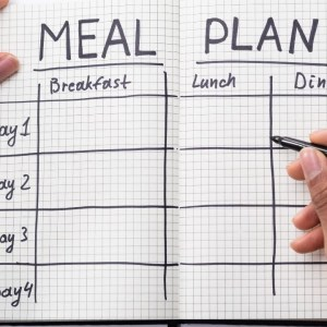 Healthy Meal Planning - Sample Meal Option -The TLC Diet plan