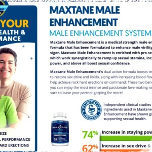 Max Tane Male Enhancement Reviews, Price, Ingredients & Trial Here