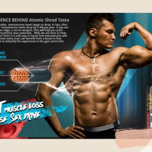 Atomic Shred Testo Booster - Enjoy Your Manliness With Book Your Order Now!
