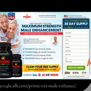 Prime EXT Male Enhancement – Cure all your Sexual Troubles and Stay Happy!