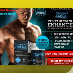 Max Boost Omega Muscle Review – For High Performance And Healthy Muscle Building!