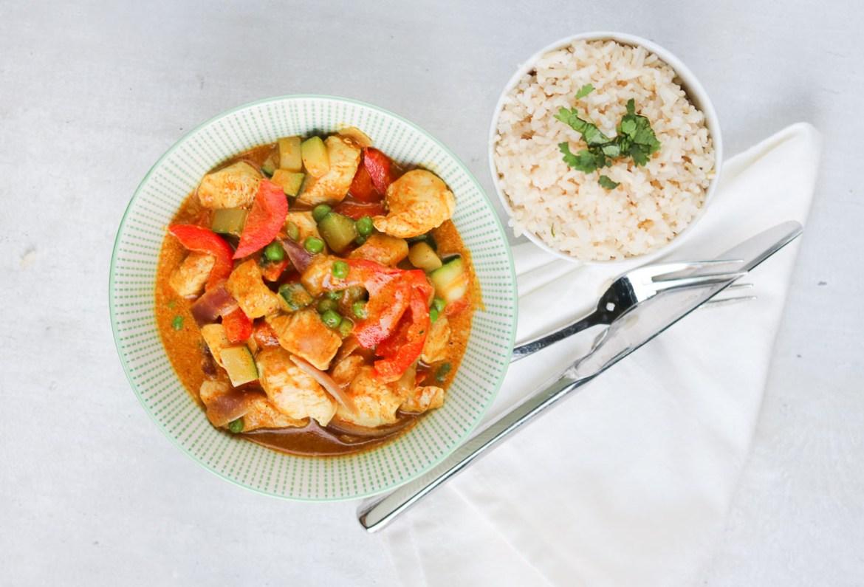 Gele-curry-courgette-kip-paprika