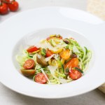 Courgetti-avocado-tomaat