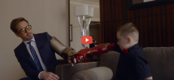 3D Printed Superhero Prosthetics Save the Day [video]