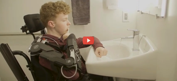 Abilitech Aids Upper-Limb Disabled People [video]