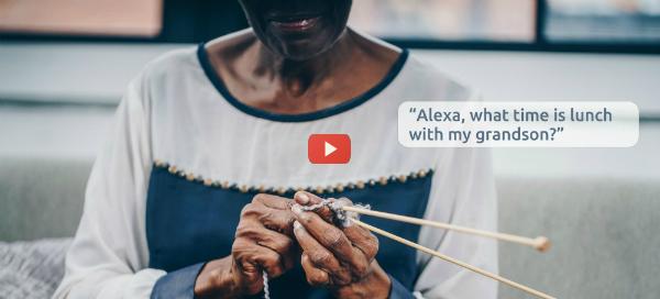 Amazon Alexa Supports Senior Independent Living [video]