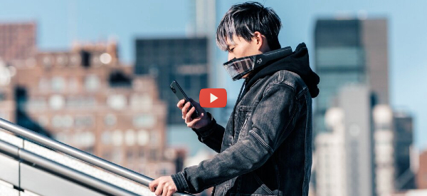 Active Air Filtration Mask Promises Better Protection [video]