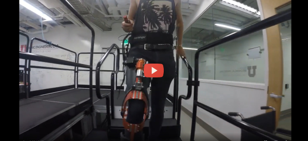 Smart Exoskeleton Helps Amputees Use Less Energy [video]