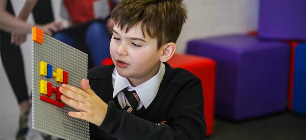 Lego Braille Blocks