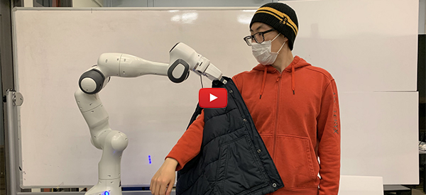 Safer Robot Assistants Respond to Unexpected Human Behavior [video]