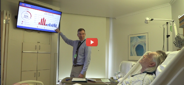 Cedars-Sinai Counts Post-Op Steps to Predict Discharge [video]