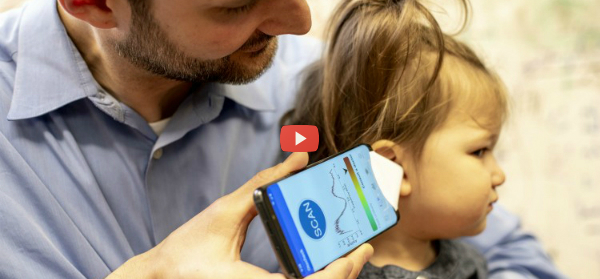 Smartphone App Detects Ear Infections [video]