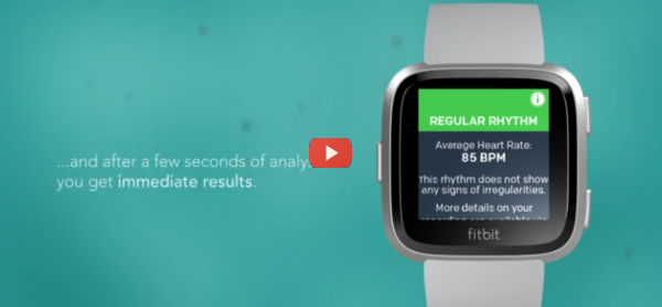 Fitbit Watches Identify Irregular Heart Beats [video]