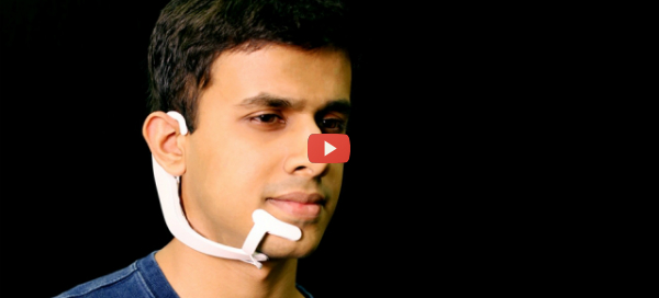 AI-powered Transcribing Wearable Offers Silent Computing [video]