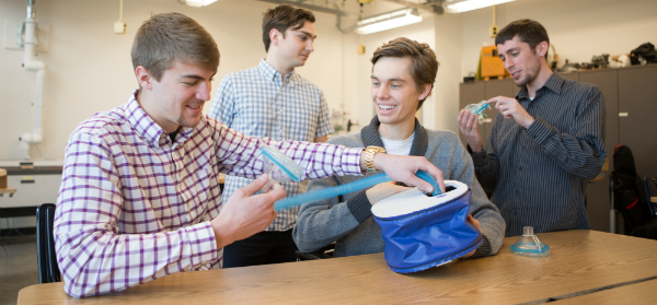 Students Design Lightweight Cough Assist Device