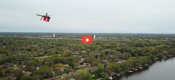 Drone Delivers Transplant Organ Safely After 10-Mile Flight [video]