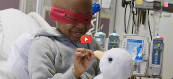 AFLAC Duck Smart Pediatric Chemo Companion [video]