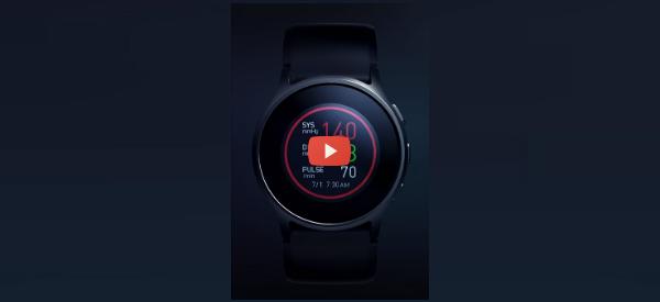 Blood Pressure Watch to Start Sales [video]