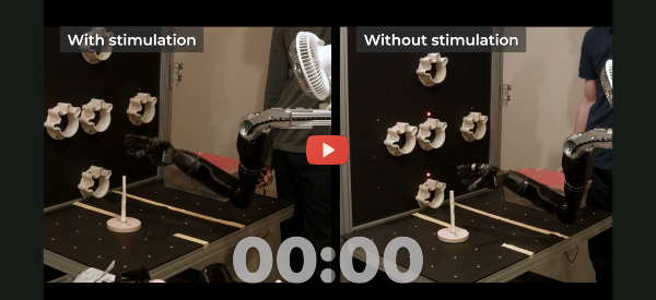 Robotic Arms Are Faster with Tactile Sensors [video]