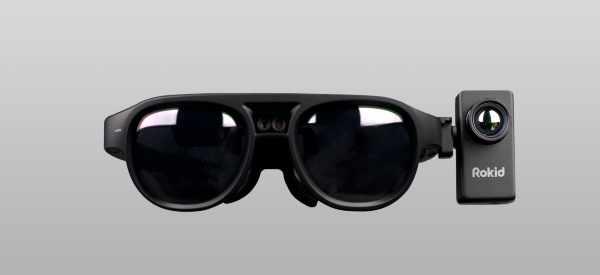Thermal Imaging Glasses Detect Body Temperature