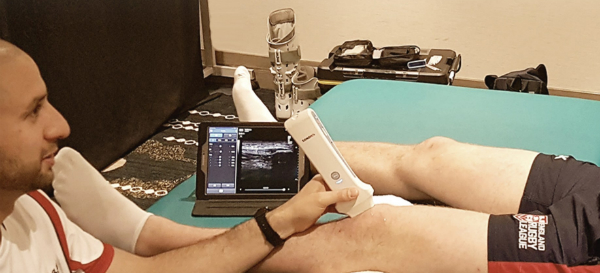 Wireless Handheld FDA-Approved Ultrasound Device