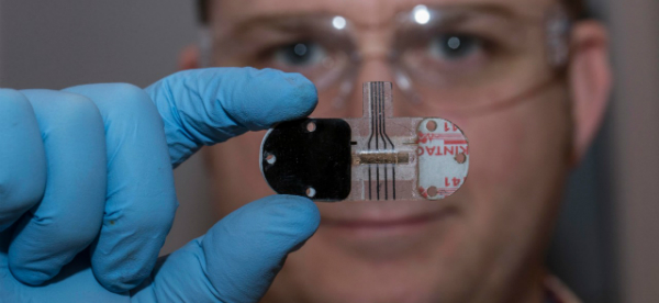 Sweat Sensor Enables Noninvasive Health Monitoring