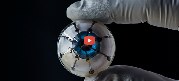 3D Printed Hemispherical Bionic Eye Prototype[video]