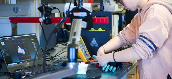 3D Printed Prosthetics with Integrated Electronics