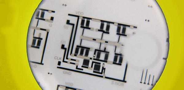 Complex Circuits Created with T-Shirt Printer