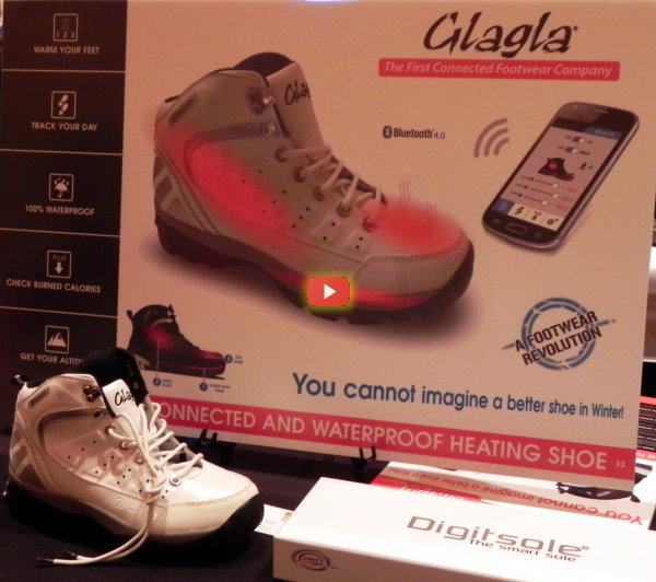 CES 2015: Smart Insoles Can Give You a Hot Foot [video]
