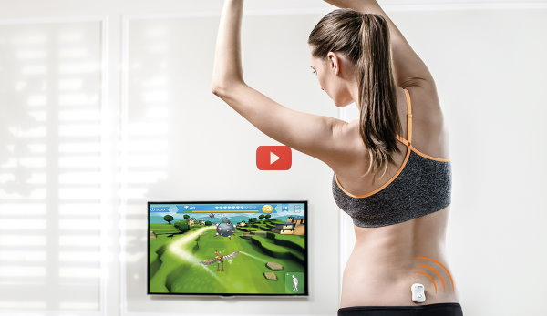 CES 2015: Sensors Guide Lower Back Health [video]