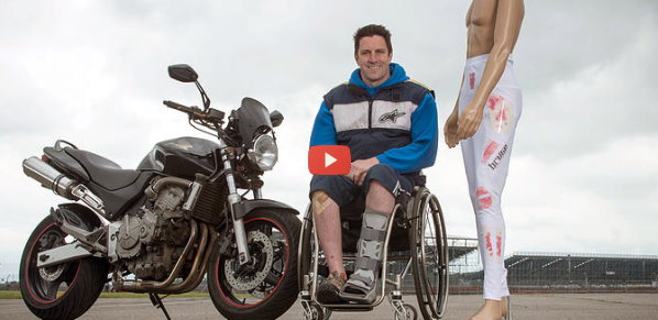 Suit Warns Paraplegics of Injury [video]