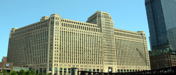 Merchandise Mart Building In Chicago