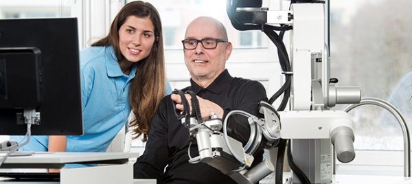 New Robotic Arm to Help Stroke Victims Recover