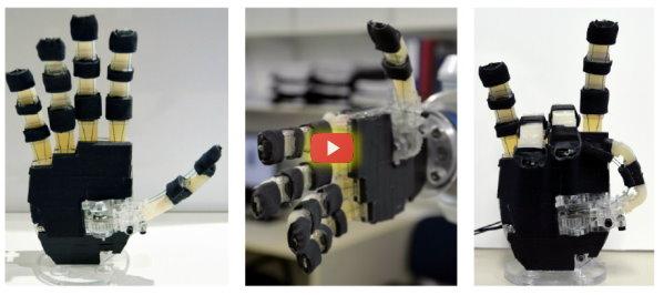 Open Source Robotic Hands [video]