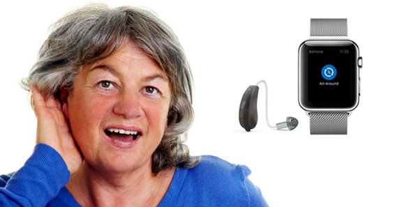 Apple Watch Controls Hearing Aids