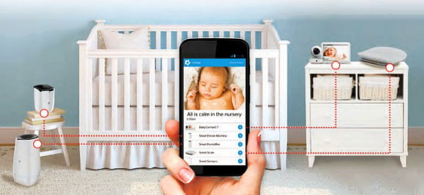 CES 2016: IoT Creates the Connected Nursery