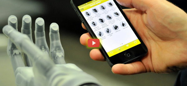 Prosthetic Hand Obeys Multiple Inputs [video]