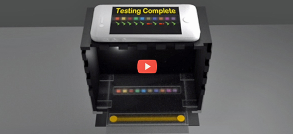 Pee in a box test with video 600x274