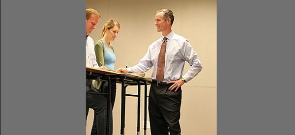 Texas A&M Mark Bender Standing Desk 600x275