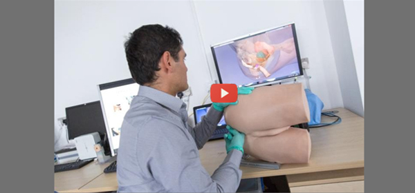 Robot rectum with video 600x280