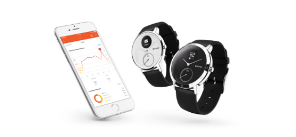 Withings HR Steel Smart Watch Combines Analog with Digital