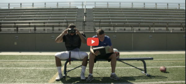 Concussion Check on the Field with Eye-Sync [video]