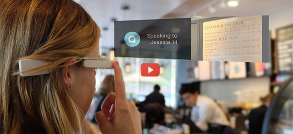 CES 2017: Personal Guide for Blind Users with AR Glasses [video]