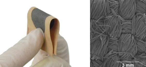 Cotton and graphene