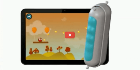 Squeezable Game Controller Helps Upper Limb Therapy