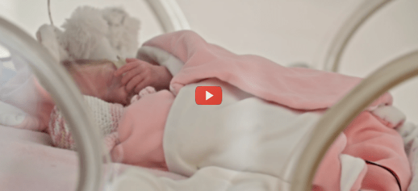 Blanket with Heartbeat Comforts Babies [video]