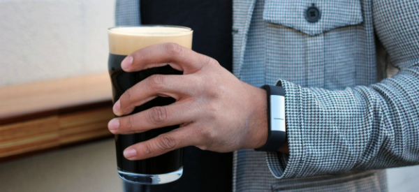 Wristband Alerts When Your Sweat Is Drunk