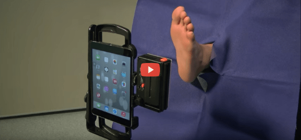 Tablet App Detects Diabetic Foot Ulcers [video]