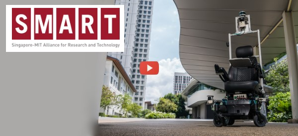 MIT Tests  Autonomous Wheelchair [video]